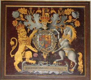 Charles II Royal Coat of Arms