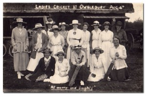 Owslebury Ladies Cricket Team 1908